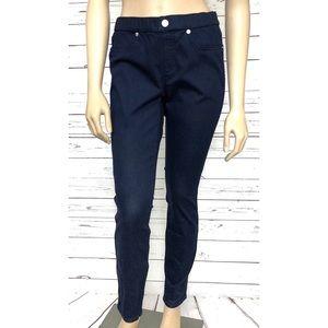 MICHAEL KORS 6 Dark Blue Wash Pull-on Skinny Jeans